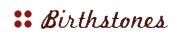 birthstone logo